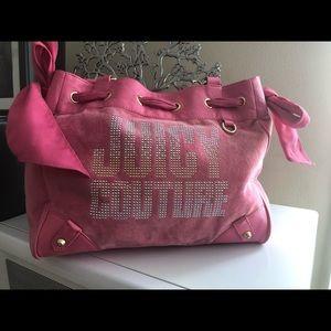 Juicy Couture Pink velvet bag